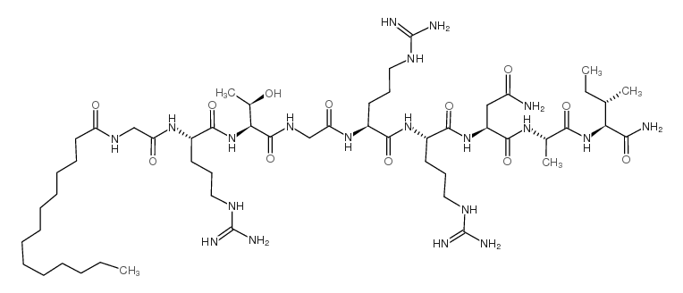PROTEIN KINASE A INHIBITOR 14-22 AMIDE, CELL-PERMEABLE, MYRISTOYLATED